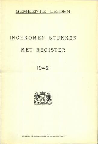 Handelingen van de Raad 1942-01-01