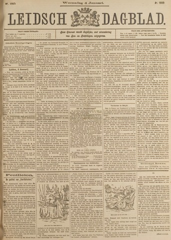 Leidsch Dagblad 1899-01-04