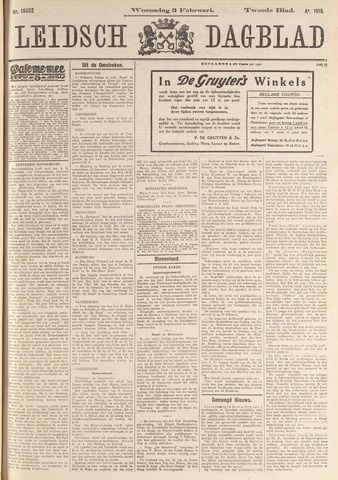 Leidsch Dagblad 1915-02-03