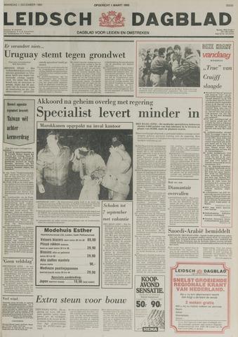 Leidsch Dagblad 1980-12-01