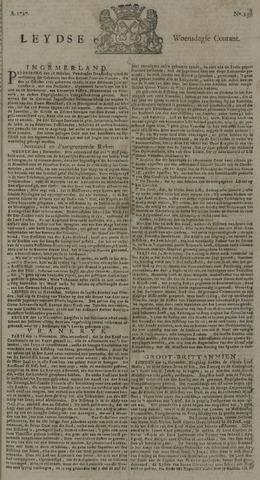 Leydse Courant 1727-11-19
