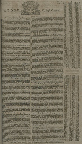 Leydse Courant 1744-09-18