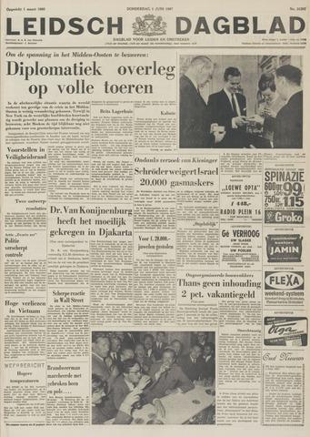 Leidsch Dagblad 1967-06-01