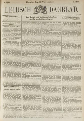 Leidsch Dagblad 1892-11-03