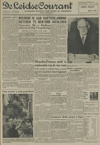 Leidse Courant 1954-11-23