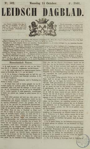 Leidsch Dagblad 1861-10-14
