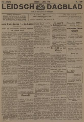 Leidsch Dagblad 1940-04-02