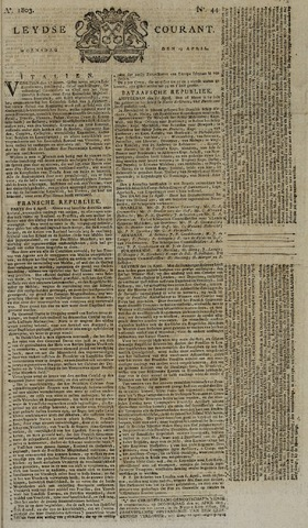 Leydse Courant 1803-04-13