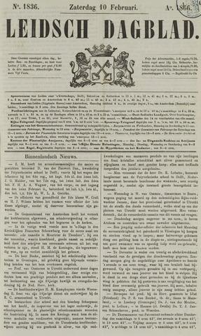 Leidsch Dagblad 1866-02-10