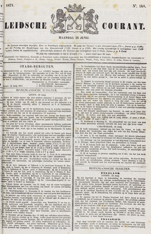 Leydse Courant 1871-06-26