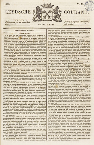 Leydse Courant 1860-03-09