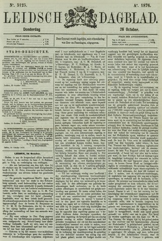 Leidsch Dagblad 1876-10-26