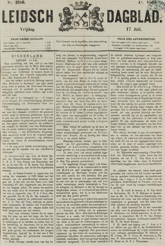 Leidsch Dagblad 1868-07-17