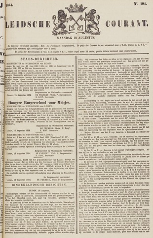 Leydse Courant 1884-08-18