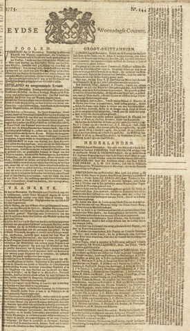 Leydse Courant 1773-12-01