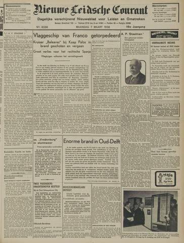 Nieuwe Leidsche Courant 1938-03-07