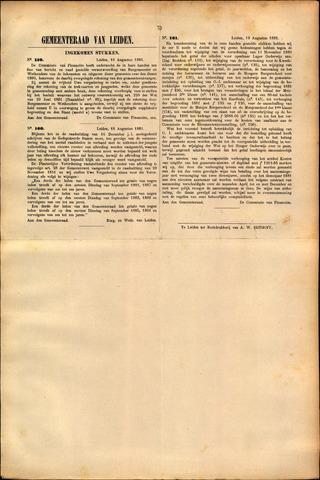 Handelingen van de Raad 1881-08-19