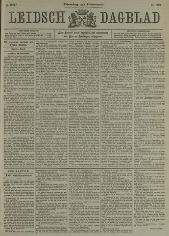 Leidsch Dagblad 1909-02-16