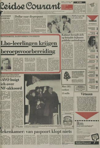 Leidse Courant 1987-12-11