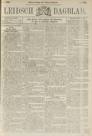 Leidsch Dagblad 1892-12-10