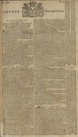 Leydse Courant 1760-01-30