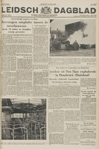 Leidsch Dagblad 1955-06-13