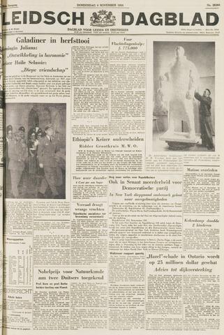 Leidsch Dagblad 1954-11-04