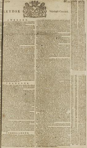 Leydse Courant 1769-04-28