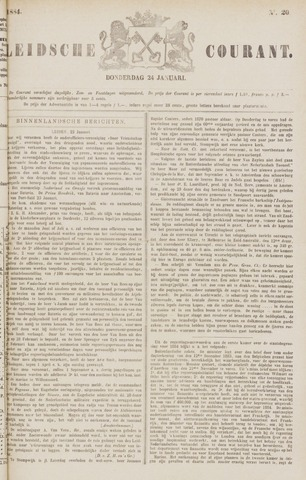 Leydse Courant 1884-01-24