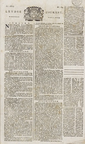 Leydse Courant 1815-06-21