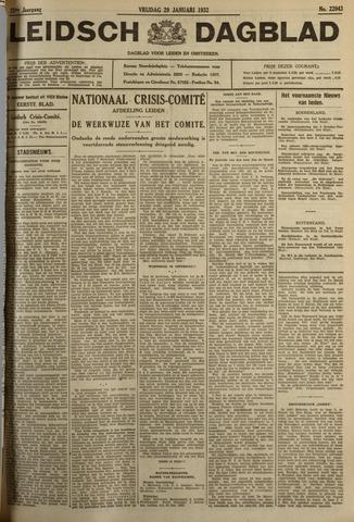 Leidsch Dagblad 1932-01-29