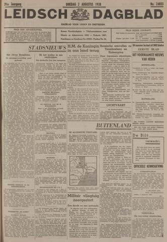 Leidsch Dagblad 1938-08-02