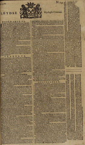 Leydse Courant 1778-10-30