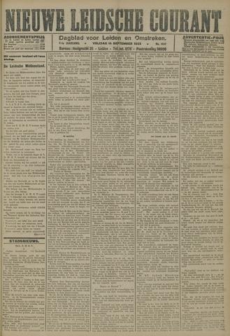 Nieuwe Leidsche Courant 1923-09-14