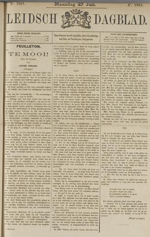 Leidsch Dagblad 1885-07-27