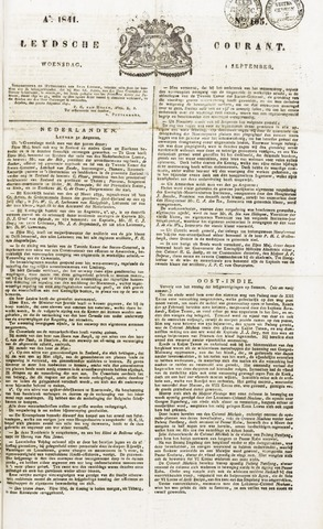 Leydse Courant 1841-09-01