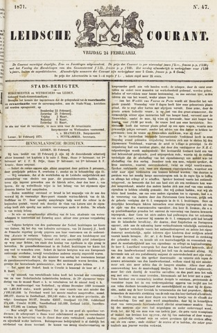 Leydse Courant 1871-02-24