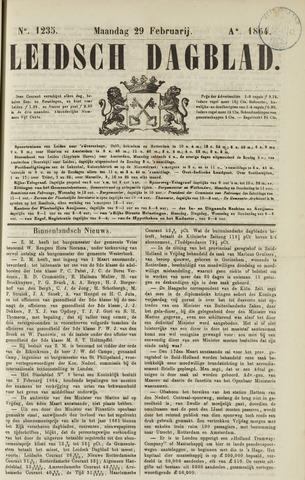 Leidsch Dagblad 1864-02-29