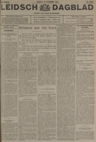 Leidsch Dagblad 1935-11-26
