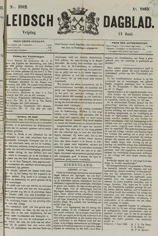 Leidsch Dagblad 1869-06-11