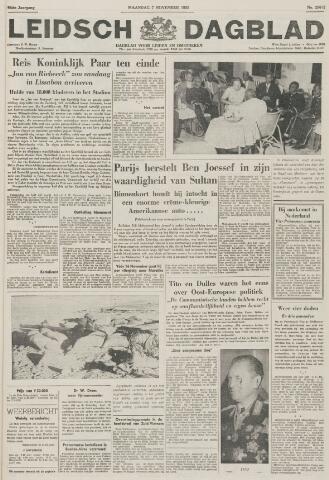 Leidsch Dagblad 1955-11-07