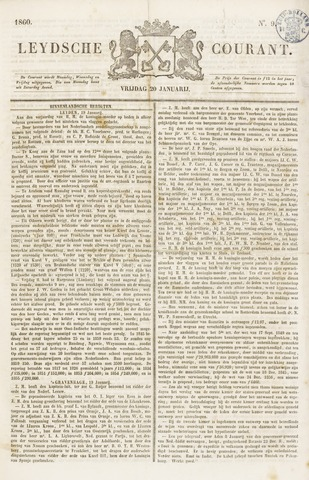 Leydse Courant 1860-01-20
