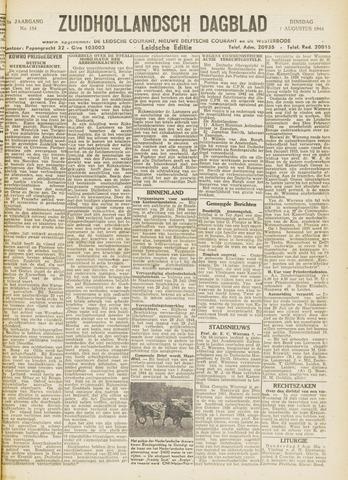 Zuidhollandsch Dagblad 1944-08-01