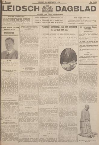Leidsch Dagblad 1930-09-19