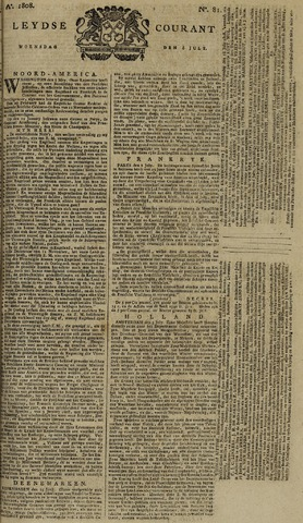 Leydse Courant 1808-07-06
