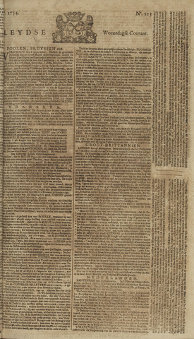 Leydse Courant 1754-09-25