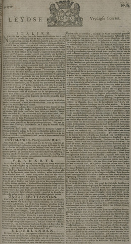 Leydse Courant 1729-07-15