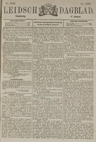 Leidsch Dagblad 1878-01-17