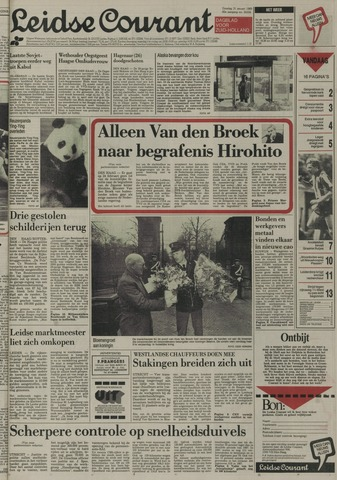 Leidse Courant 1989-01-31