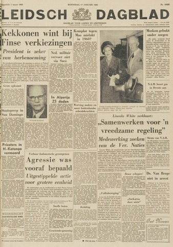 Leidsch Dagblad 1962-01-17
